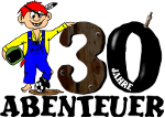 Logo 30 Jahre Abenteuer